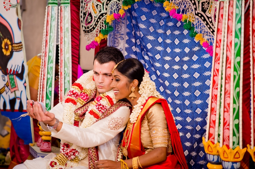 Amthuta and Daniel get married.